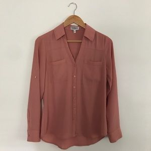 Express Portofino Button Up